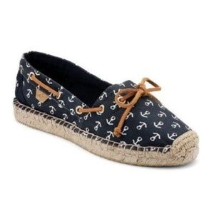 [Sperry] Espadrille Anchor Boat Shoes Size 9.5